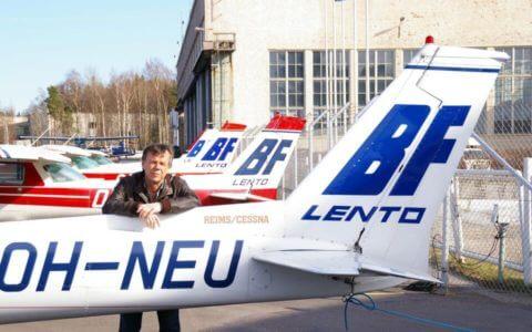 Liikennelentäjän koulutus | BF-Lento